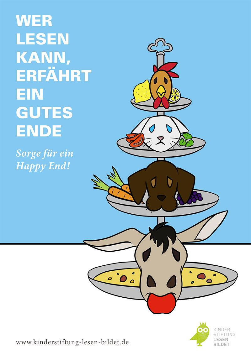 Emil Oelke, Alica Kern – Reading Poster Campaign