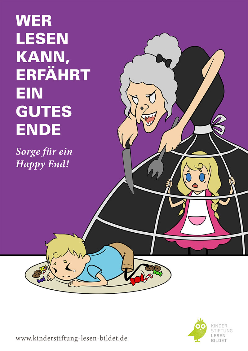 Emil Oelke, Alica Kern – Campaign for children's foundation