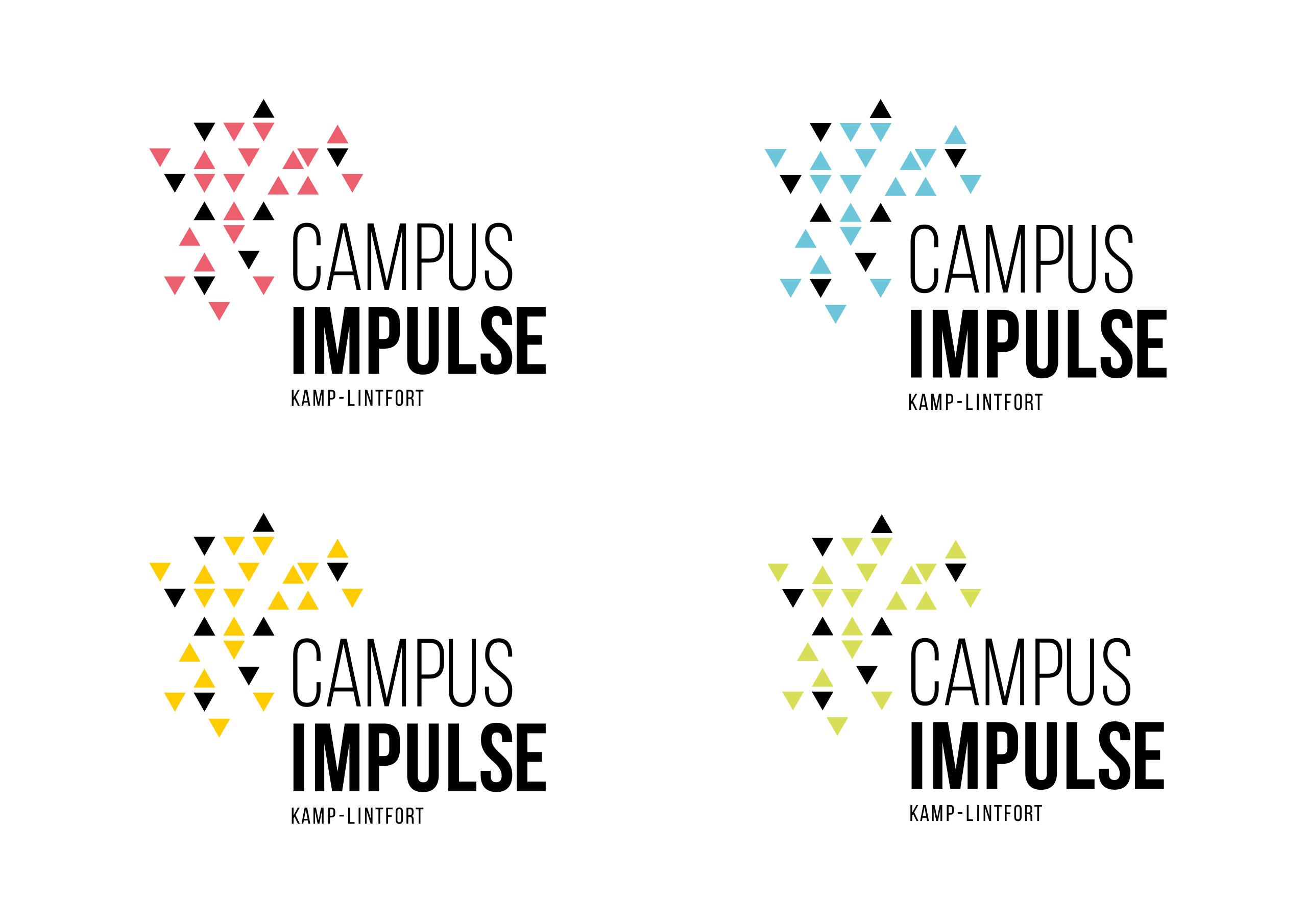 Sara Rubio Logo System Campus Impulse