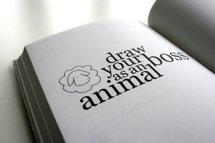 Sandra Becker – Work Book Typography Detail