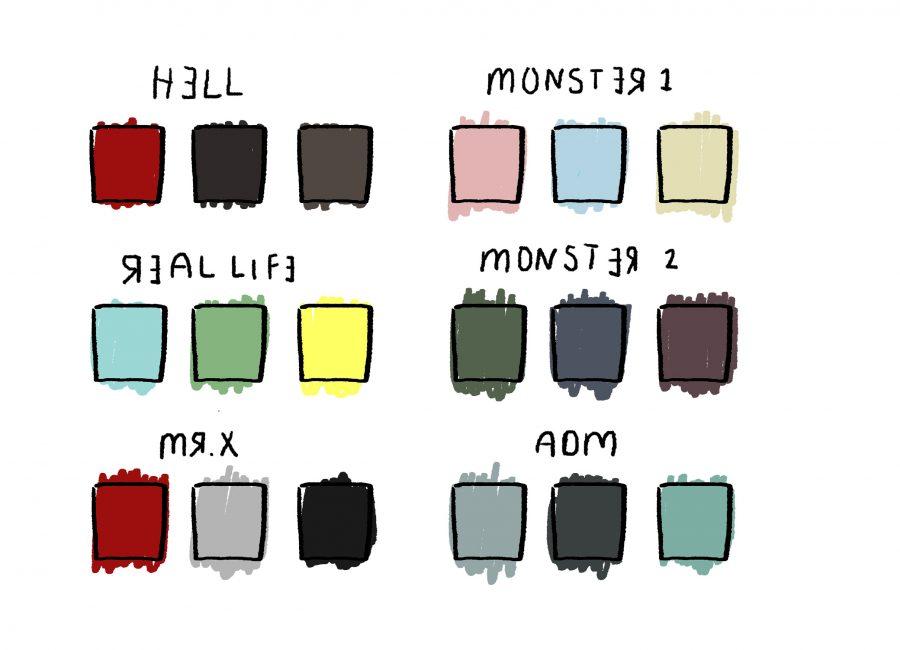 Brasseler Mount Blank Game Colors