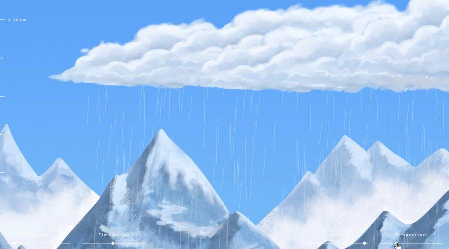 Emil Oelke Website Cloud Atlas Menu