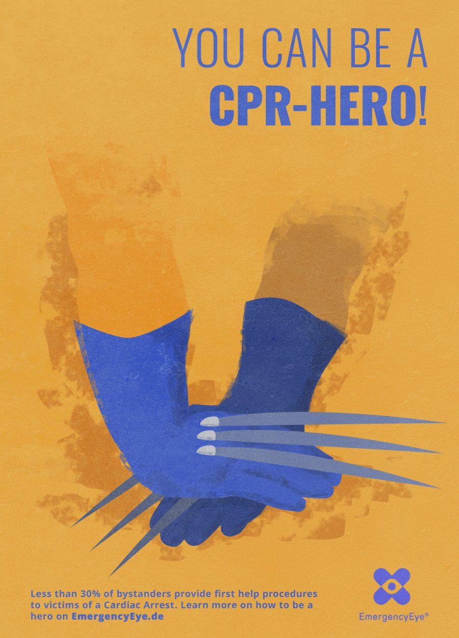 Joao Heleno Duarte CPR Hero Poster