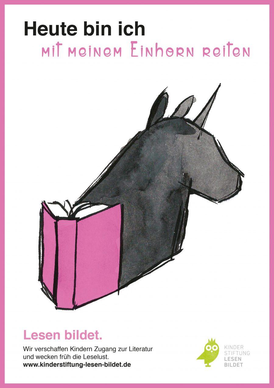 Svenja Rothländer, Robin Hill – Today I am Poster Unicorn