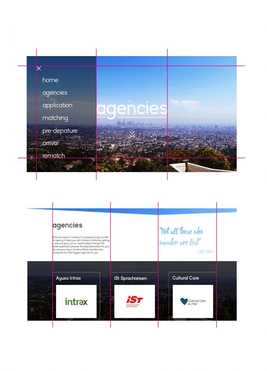 Kleier Baumanns Website Grid