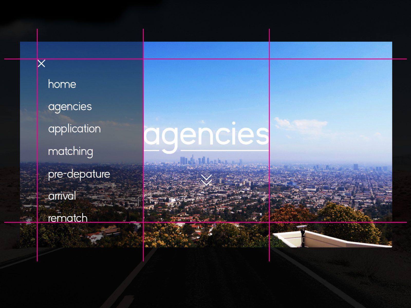 Kleier Baumanns Website Menu Grid