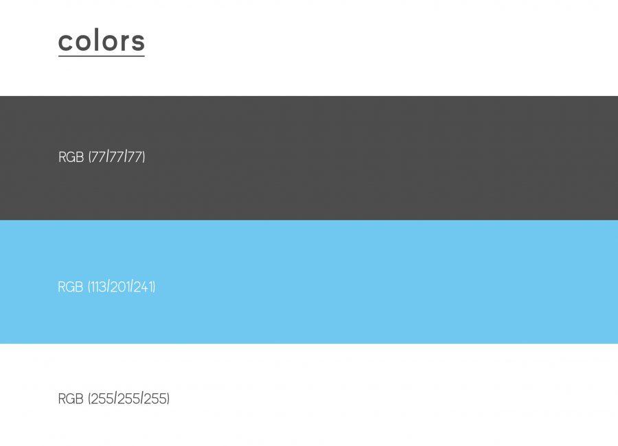 Kleier Baumanns Website Colors