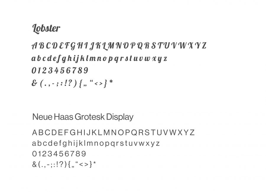 Lisa Kamysz App Typography