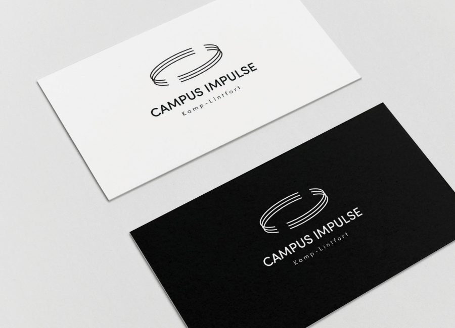 Louisa van Stein Campus Impulse Logo Application