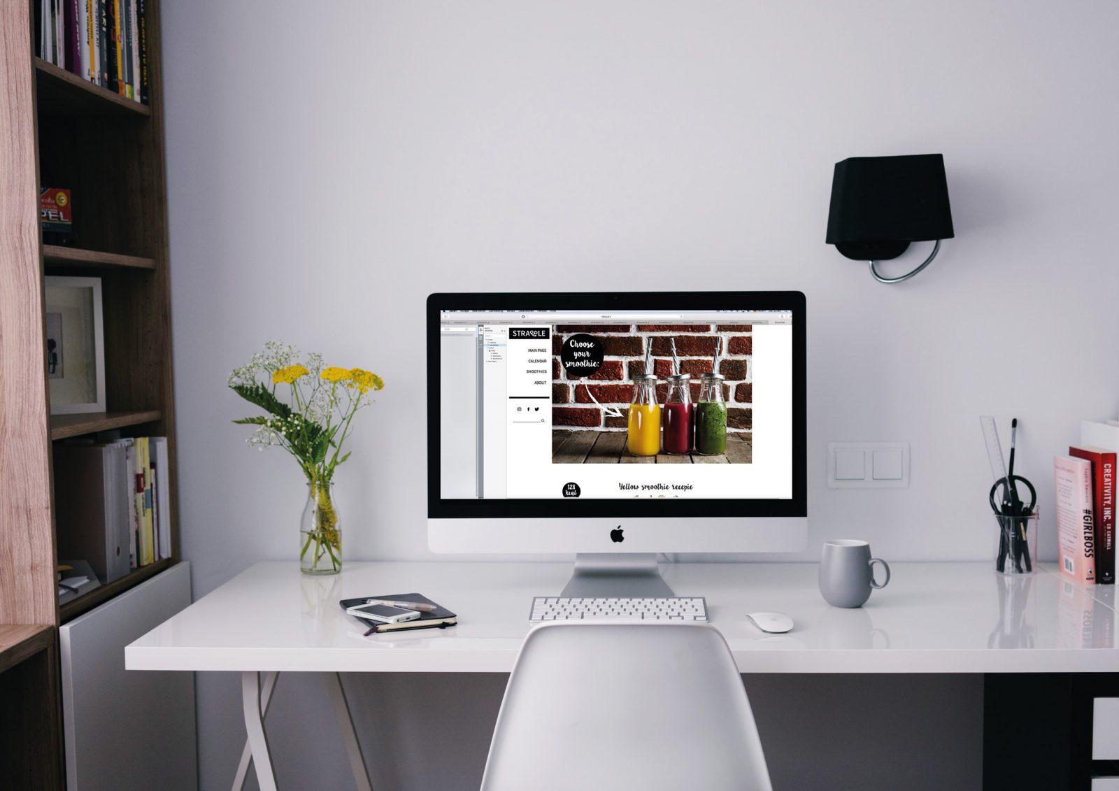 Olga Rogozhyna Website Desktop Version
