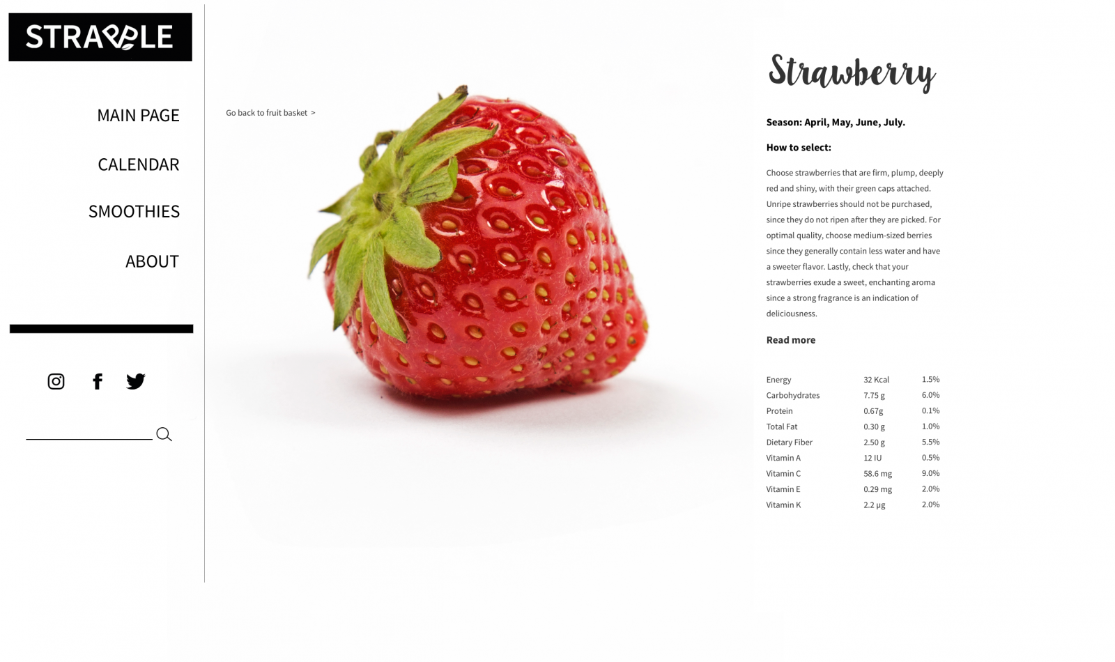 Olga Rogozhyna Website Strawberry