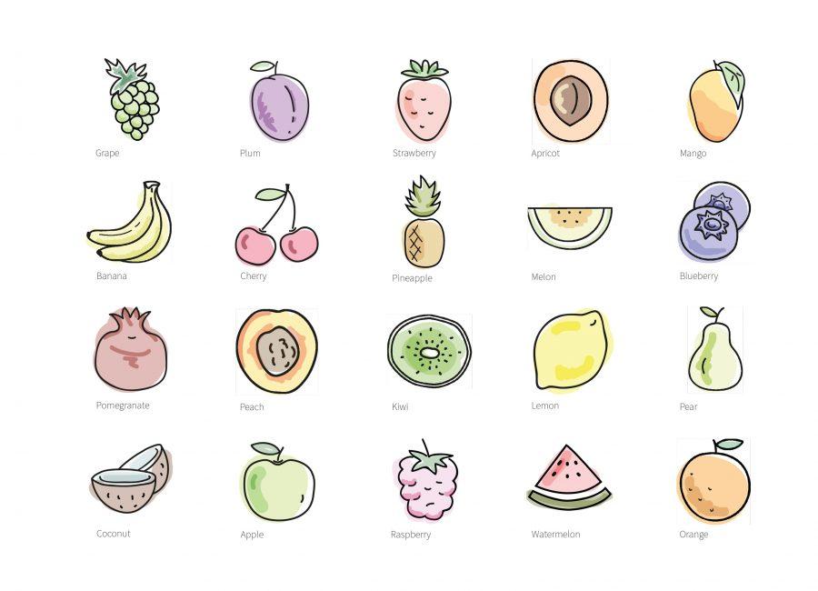 Olga Rogozhyna Website Illustrations