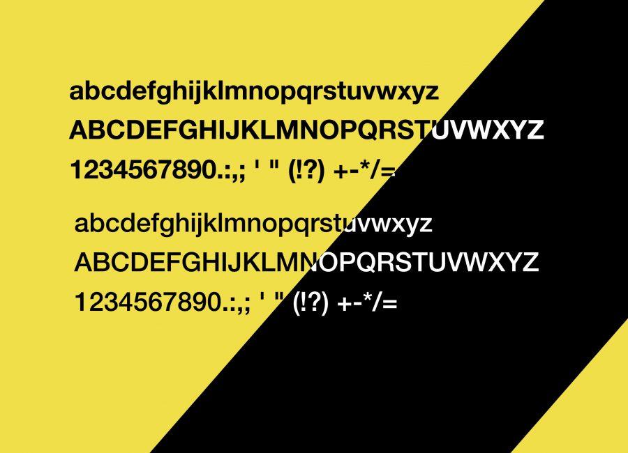 Pablo Garcia Corporate Design Typography