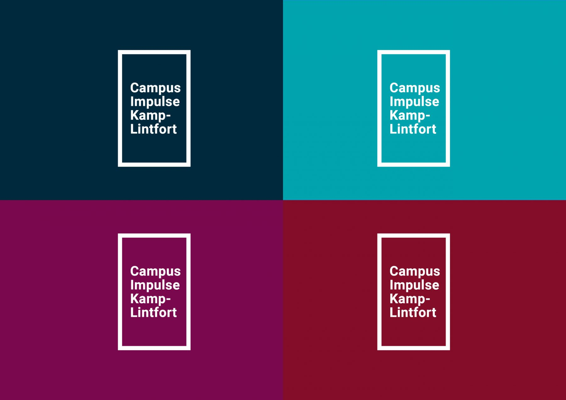 Robin Hill Campus Impulse Logo Colors