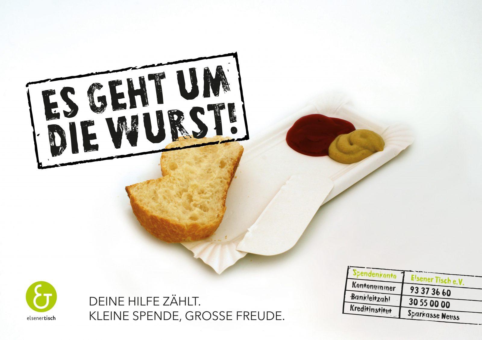 Maximilian Heger – Elsener Tisch Campaign sausage