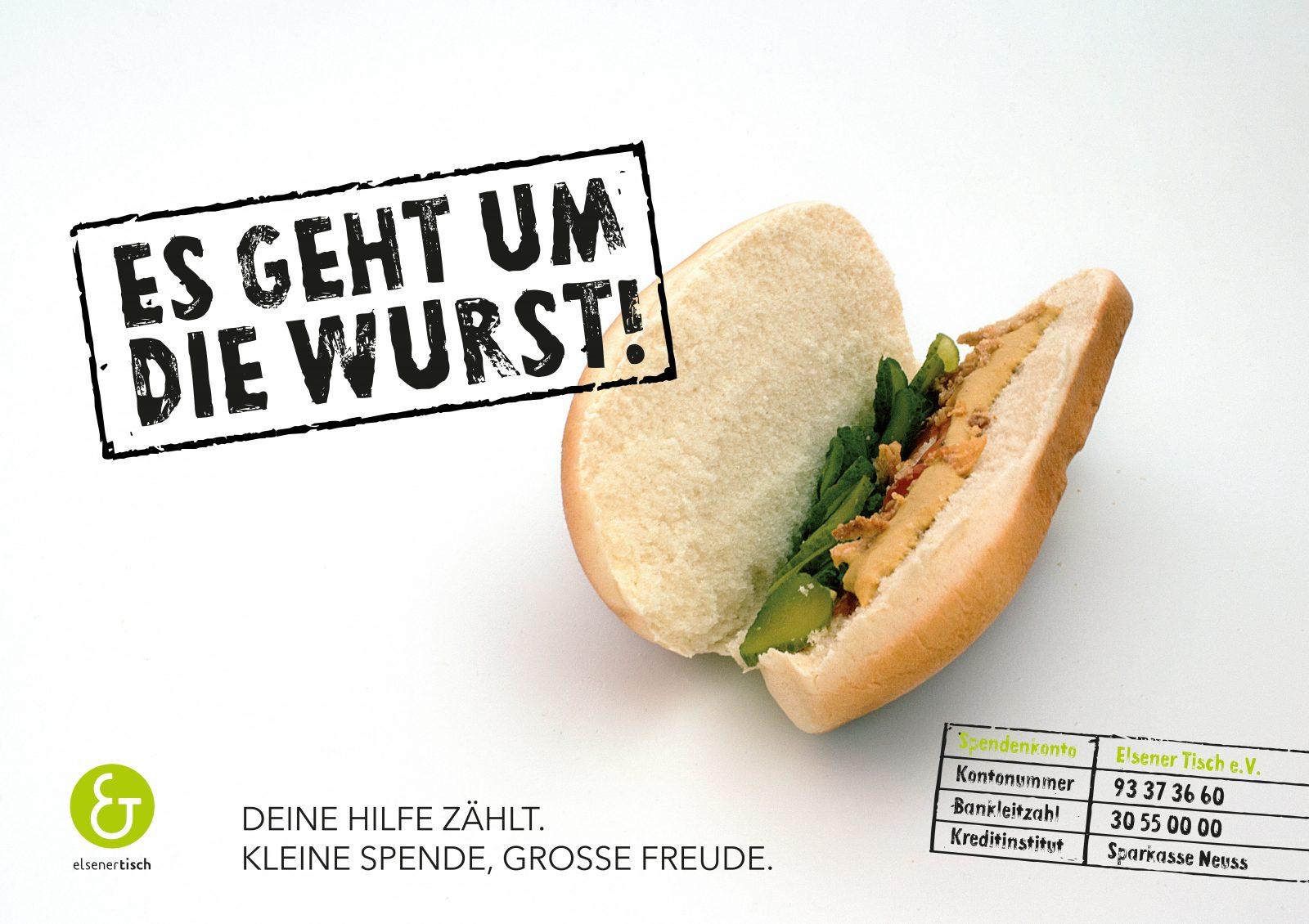 Maximilian Heger – Elsener Tisch Campaign Hotdog